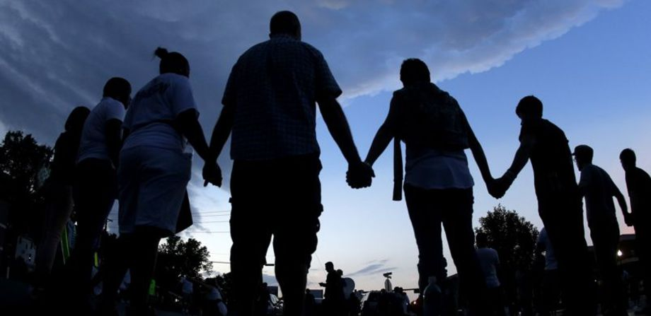 Holding hands, together we can heal this disease and gain peace.